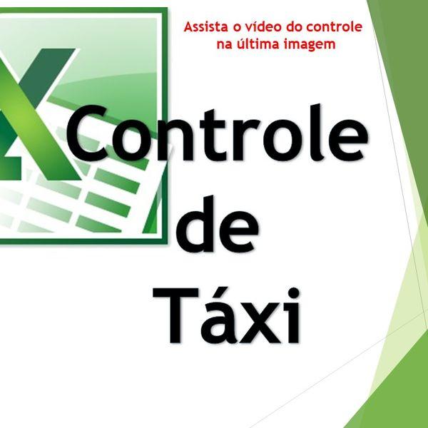 Imagem principal do produto Controle De Taxi - Excel Planilhas Avançadas