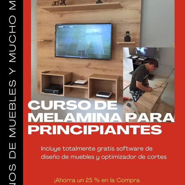 Imagem principal do produto CURSO DE MELAMINA PARA PRINCIPIANTES