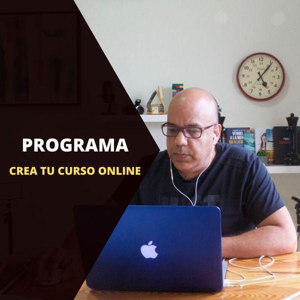 Imagem principal do produto CREA TU CURSO ONLINE