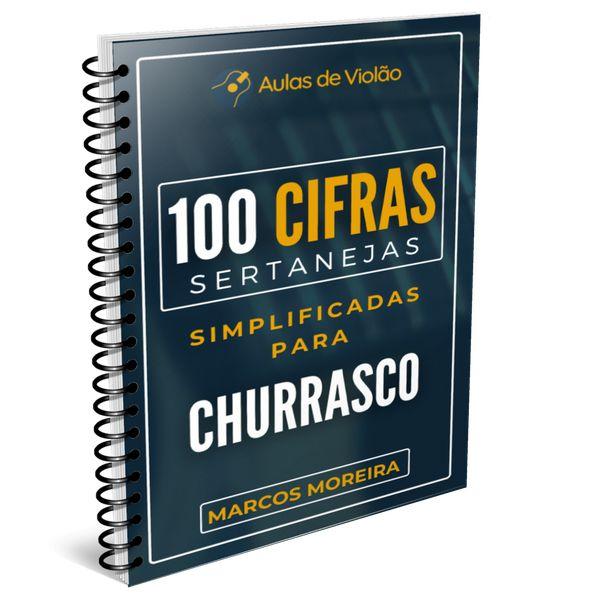 Imagem principal do produto 100 CIFRAS SERTANEJAS SIMPLIFICADAS PARA CHURRASCO