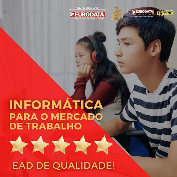 Imagem principal do produto INFORMÁTICA PARA O MERCADO DE TRABALHO