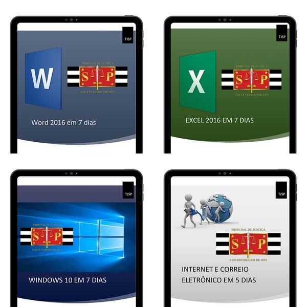Imagem principal do produto Informática Completo TJ-SP VUNESP