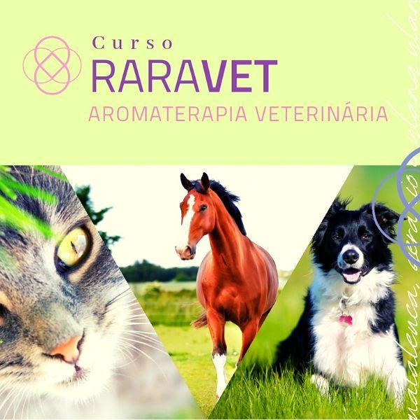 Imagem principal do produto Formação em Aromaterapia Veterinária - RaraVet - Cód. FPB