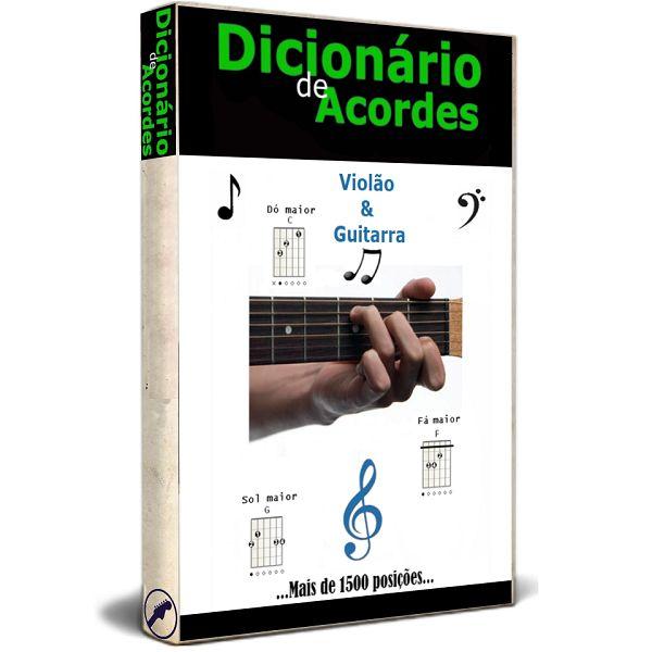 Imagem principal do produto Dicionário de acordes para violão e guitarra