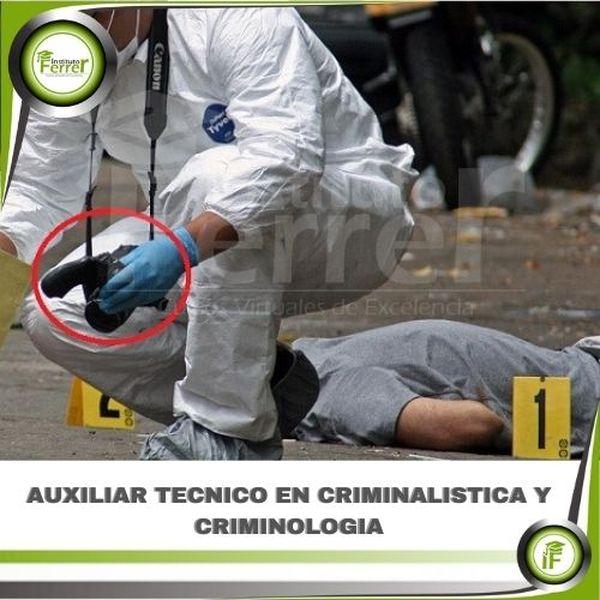 Imagem principal do produto AUXILIAR TECNICO EN CRIMINALISTICA Y CRIMINOLOGIA