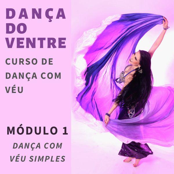 Imagem principal do produto Curso de dança com véu: Dança com véu simples