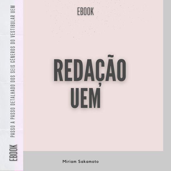 Imagem principal do produto Ebook - Redação UEM