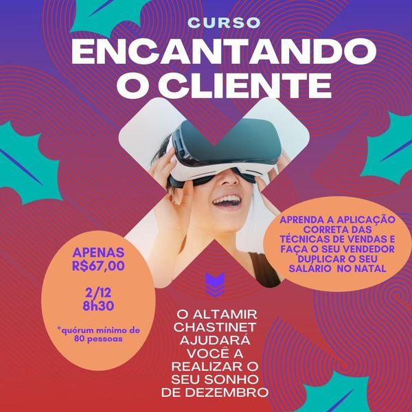 Imagem principal do produto Encantando o Cliente - Estratégias de Venda para o Natal - Altamir Chastinet