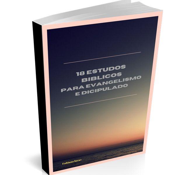 Imagem principal do produto 18 Estudos Bíblicos para Evangelismo e Discipulado