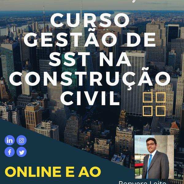 Imagem principal do produto Curso Online - Gestão de SST construção Civil
